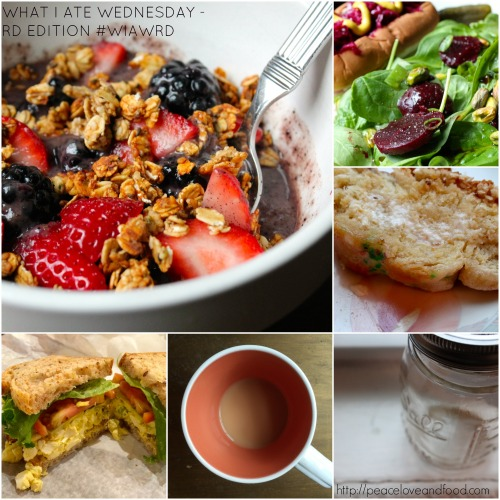What I Ate Wednesday - Dietitian Edition | Peace, Love, and Food