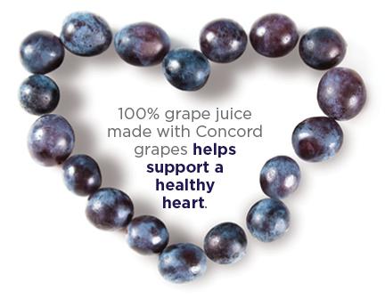 Concord Grape Heart 02.13.14