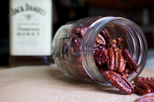 Honey Whiskey Roasted Pecans   Peace, Love, and Food